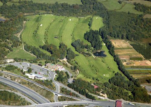 Vista aérea Golf Zuia