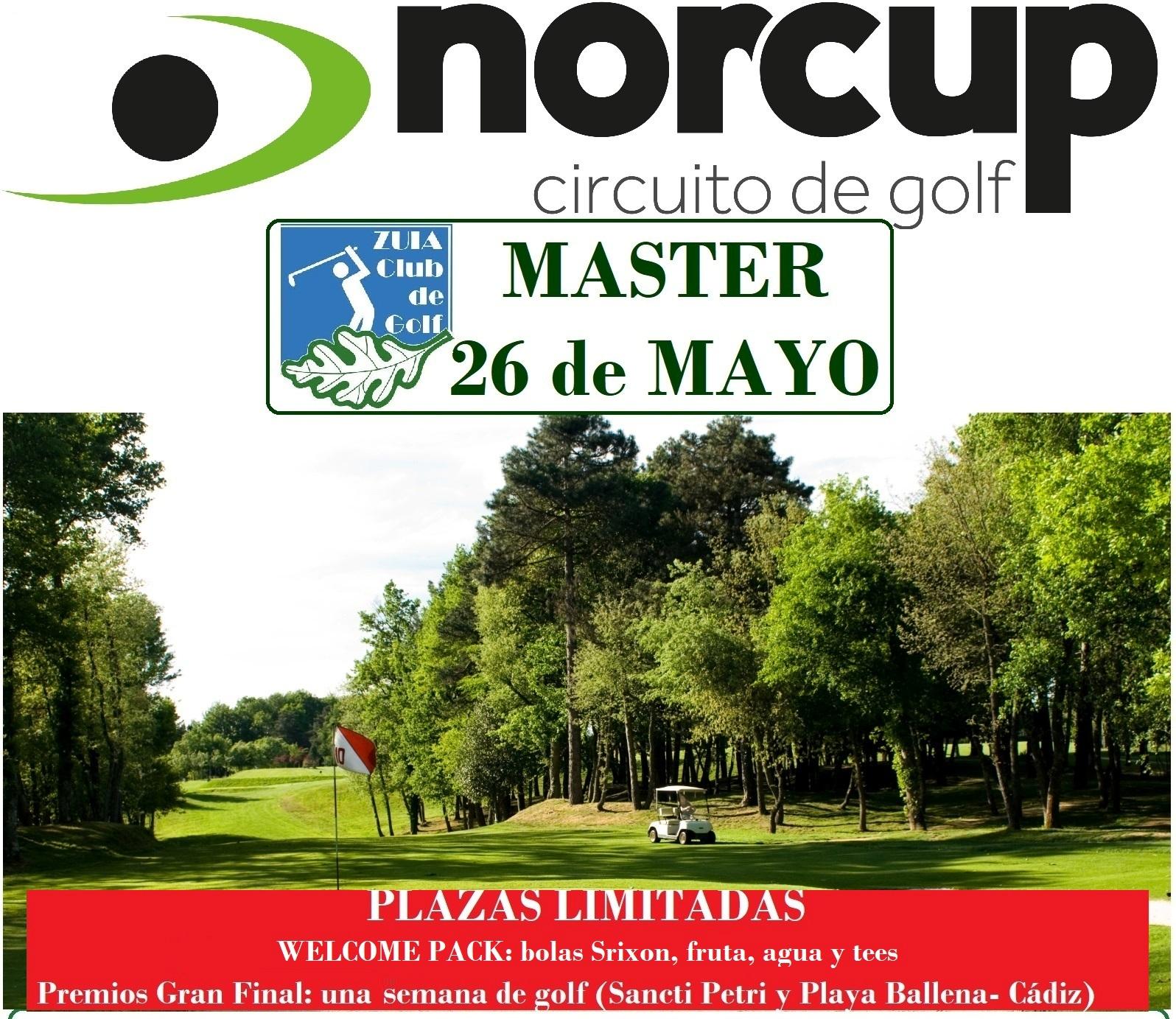 Sábado 26-mayo: Trofeo abierto Norcup Masters