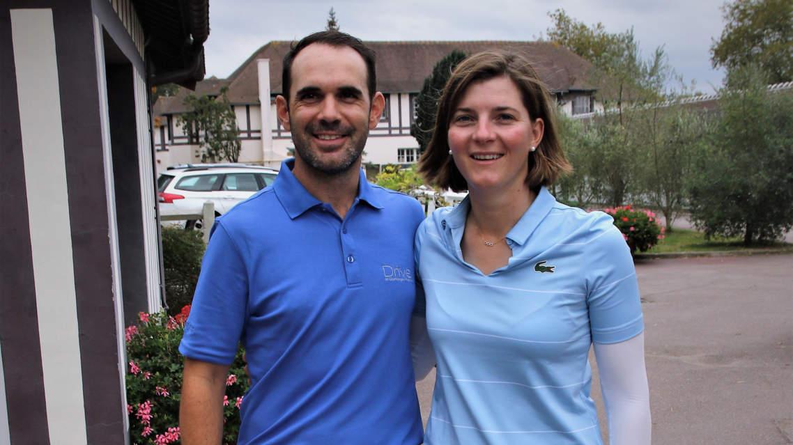 Internacional de Francia de Foursome Mixto: Marion Ricordeau e Iñigo Ceballos ganadores del match play final.  ¡Enhorabuena!