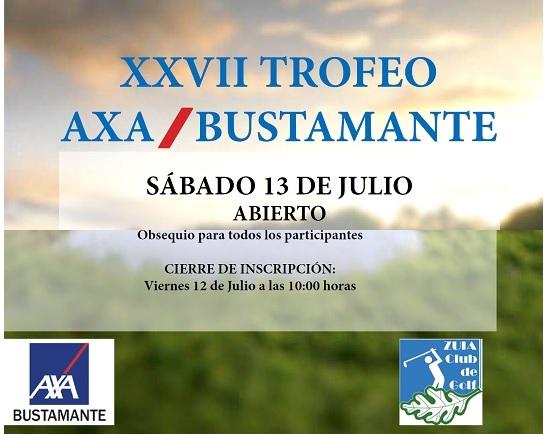 XXVII Trofeo AXA – Sábado 13 de julio