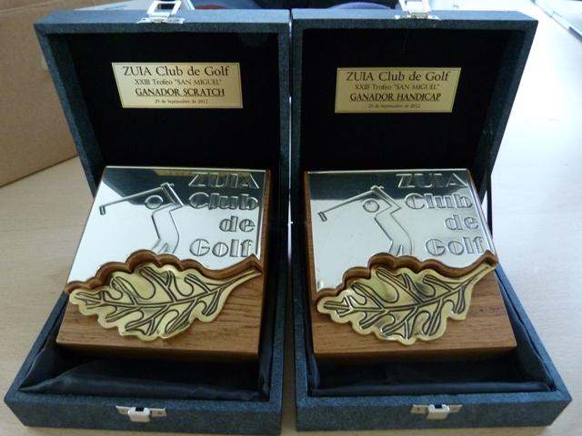XXX Trofeo SAN MIGUEL – sábado 28 de septiembre