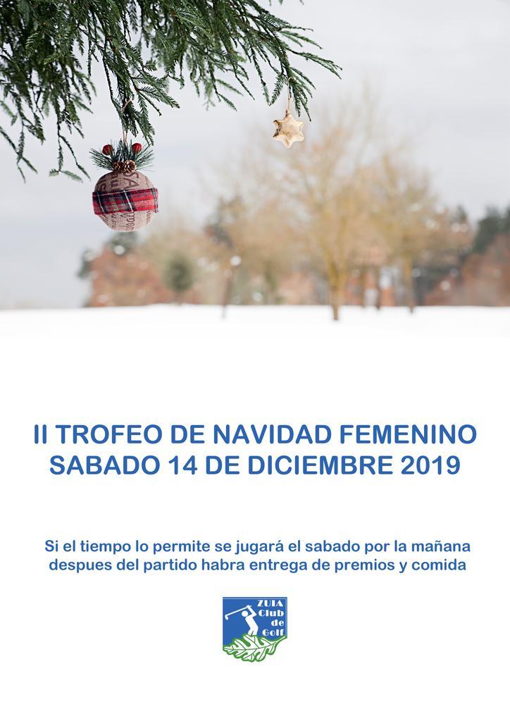 Trofeo Social de Navidad Damas