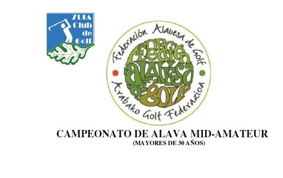 Sábado 15-jun: CAMPEONATO DE ALAVA MID-AMATEUR 2019