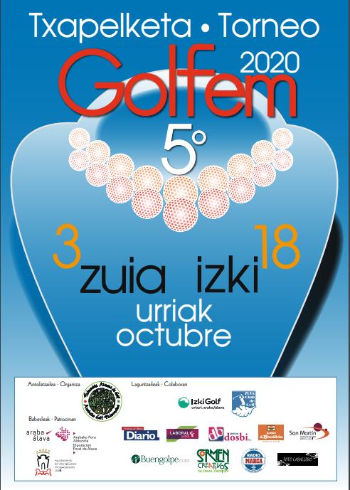 Torneo de Golf Femenino FAG. Domingo 25 de octubre ¡¡¡APLAZADO!!!!