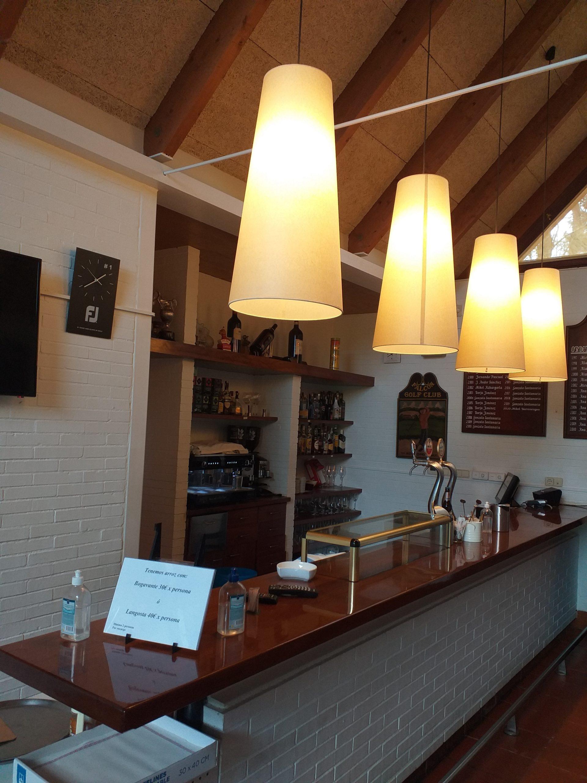 Sábado 20 de febrero: Apertura del bar y restaurante de Zuia Club de Golf
