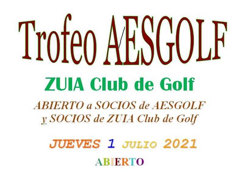 Trofeo AESGOLF ZUIA 2021